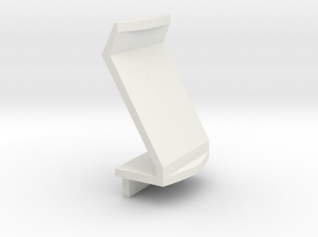 Futurliner Dashboard in White Natural Versatile Plastic