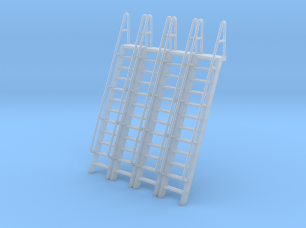 HO Scale Ladder 12 in Smooth Fine Detail Plastic