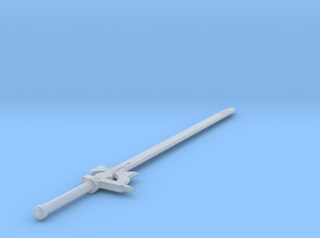 1:6 Miniature Elucidator Sword - Kirito in Smooth Fine Detail Plastic