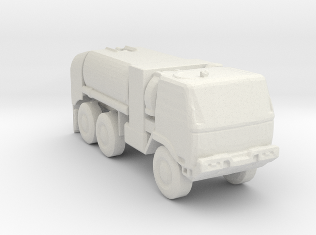 M1091 Fuel Tanker 1:220 scale in White Strong & Flexible