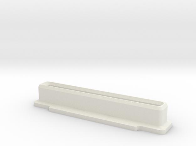 Famicom Cartridge Dust Plug in White Strong & Flexible