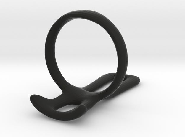 Ring splint for German 22.5 mm diam  in Black Natural Versatile Plastic