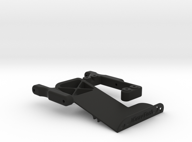 TRX4 Servo and Battery Mount in Black Strong & Flexible