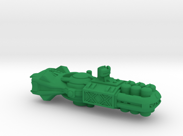 "Space Freighter ""Protector"" (OEM Class) in Green Strong & Flexible Polished"