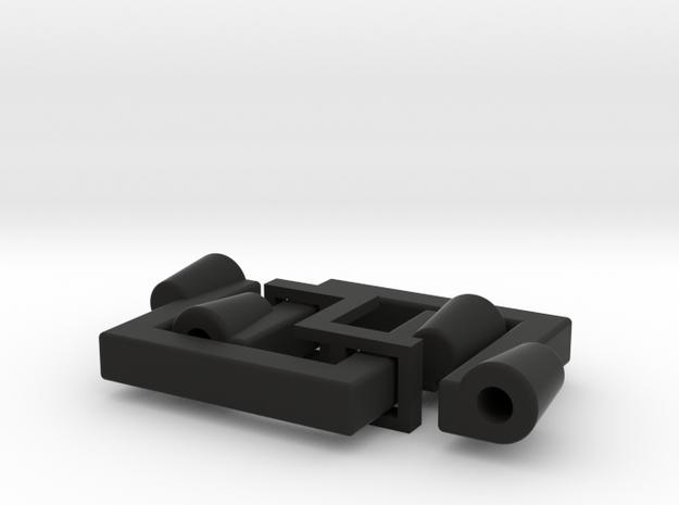 11016R0 Power+Fix Kragen in Black Natural Versatile Plastic