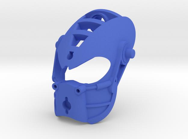 Kanohi Alkon in Blue Processed Versatile Plastic