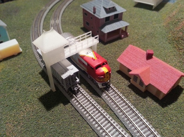 Telegraph Office - Zscale 3d printed