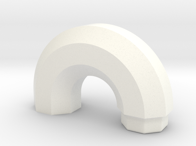 PRINTSTRUMENT14 in White Strong & Flexible Polished