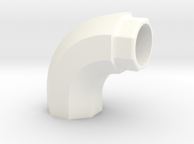 PRINTSTRUMENT15 in White Strong & Flexible Polished