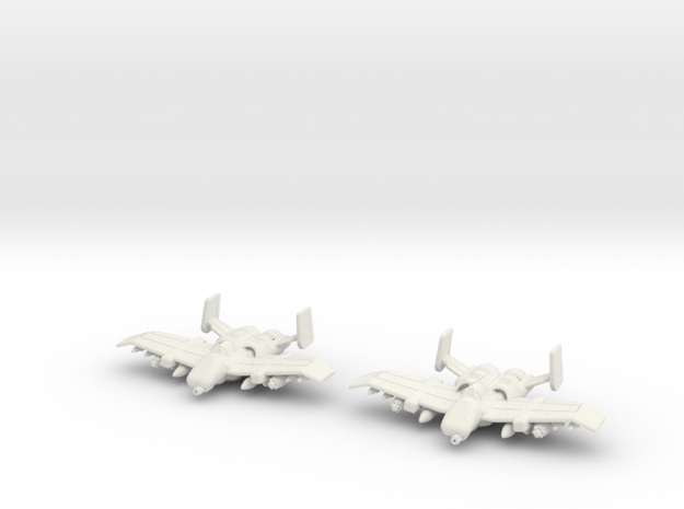 Tauri A-12 Flight: 1/270 scale in White Strong & Flexible