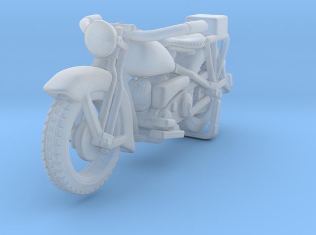 Police Harley Davidson 1930    1:87 in Smooth Fine Detail Plastic