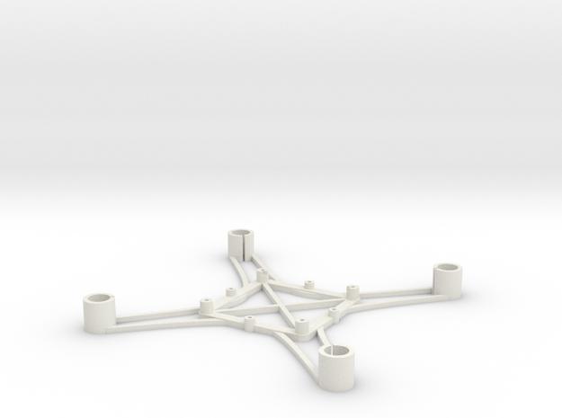 ST_drone_frame_v1_r6_btm_t2020+ in White Strong & Flexible