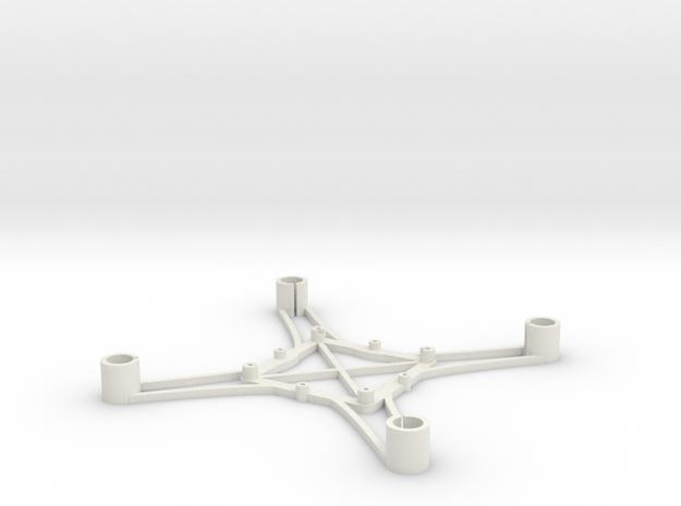 ST_drone_frame_v1_r6_btm_t2520 in White Strong & Flexible