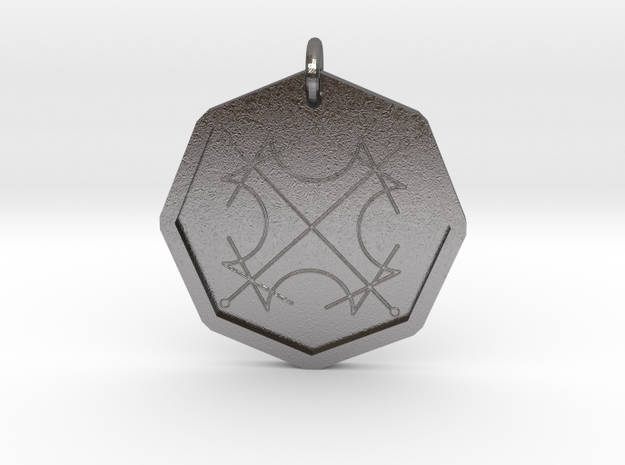 Seal of the Sun in Polished Nickel Steel