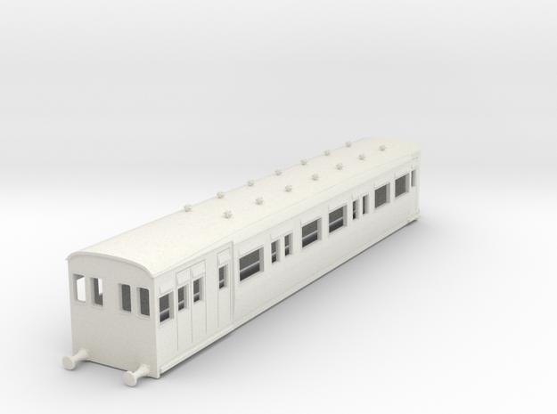 o-87-secr-railmotor-brake-push pull coach-2 in White Strong & Flexible