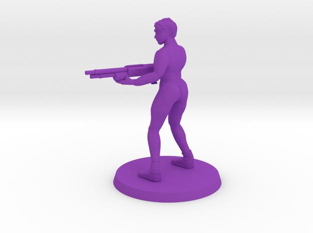 Istrid NSFW Doll in Purple Processed Versatile Plastic