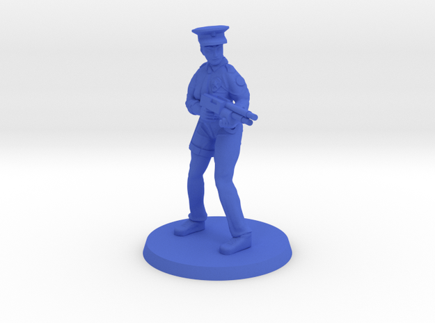 Constable Istrid  in Blue Processed Versatile Plastic