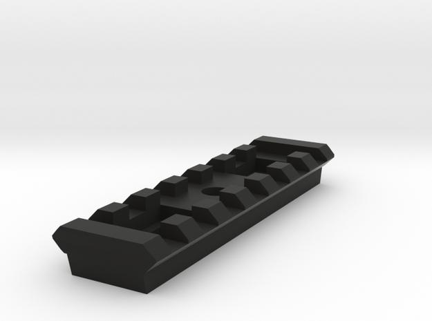7 Slots Rail for Tripod in Black Natural Versatile Plastic