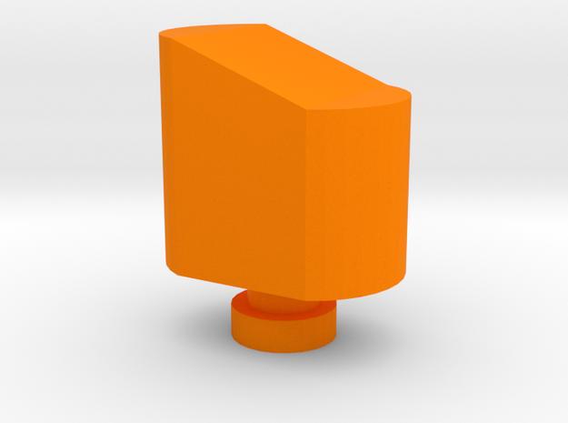 Airsoft Magazine Feeder Head in Orange Processed Versatile Plastic