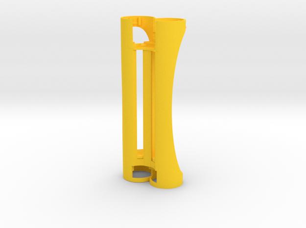 SwedishVaper PotBelly 2S 18650 / 20700 PWM Core Bo in Yellow Processed Versatile Plastic