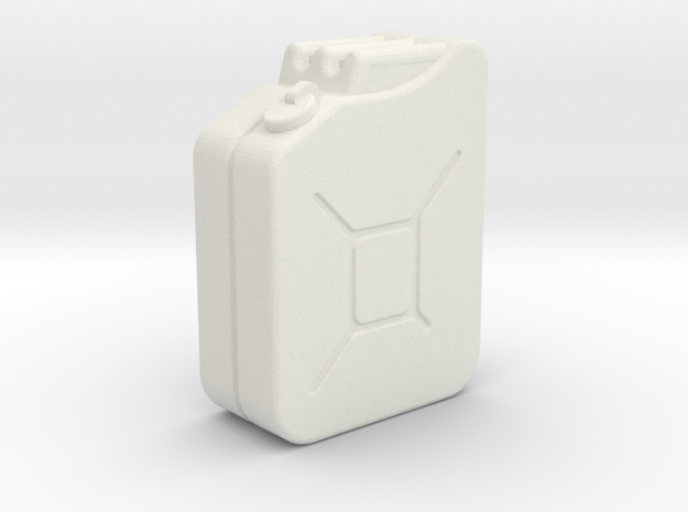 1:35th Scale Jerry Can in White Strong & Flexible