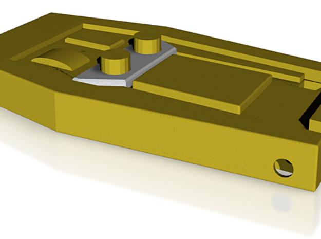 TOS Klingon Communicator body 3d printed
