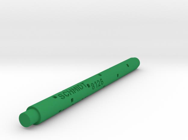 Adapter: Schmidt 8126 To Coleto in Green Processed Versatile Plastic