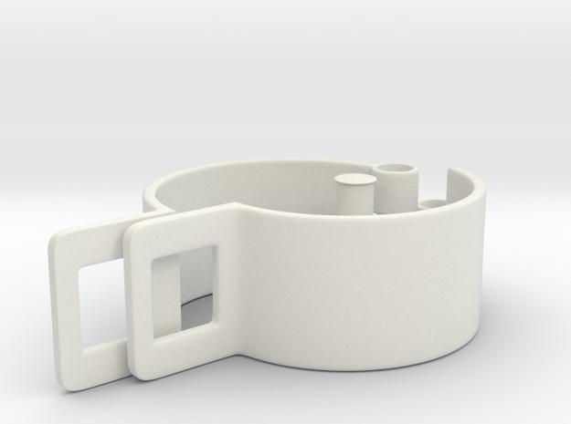 Savini Wrist Shackle in White Natural Versatile Plastic