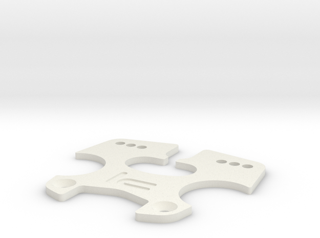 K.A.S.S. v1.2.2 [Triclamp Plate] in White Strong & Flexible