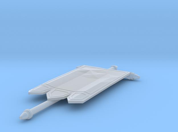 Blank Banner V4- Banner 02 mk4 in Smooth Fine Detail Plastic