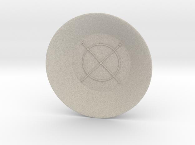 Seal of Jupiter Charging Bowl (large) in Natural Sandstone