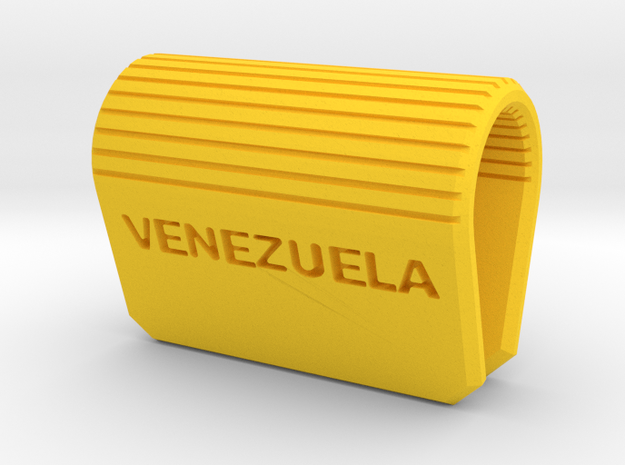 Webcam Security Cover Venezuela in Yellow Processed Versatile Plastic