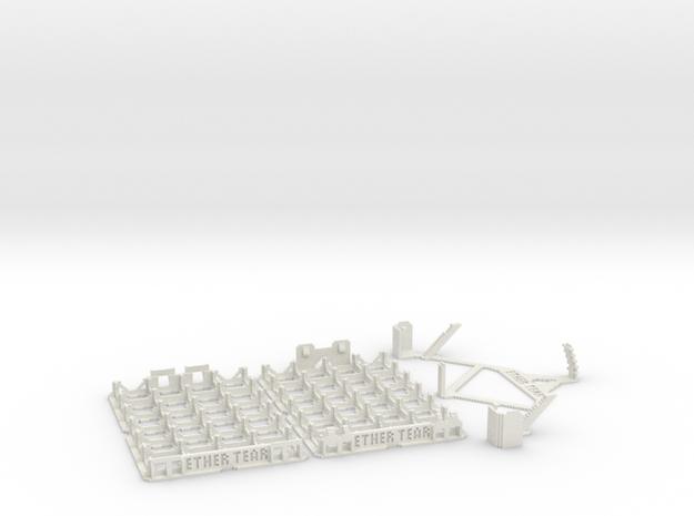 DiceMasters storage tray 4x6 in White Natural Versatile Plastic