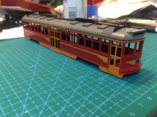 Pacific Electric Modernized Hollywood Car Kit in Frosted Ultra Detail