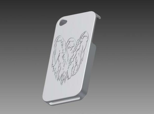 IPhone 4G Case (Spooky Logo) 3d printed Description