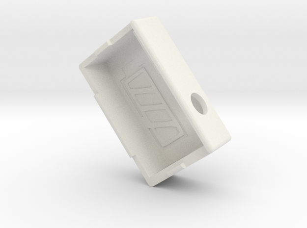Kmods Empire squonker  in White Natural Versatile Plastic