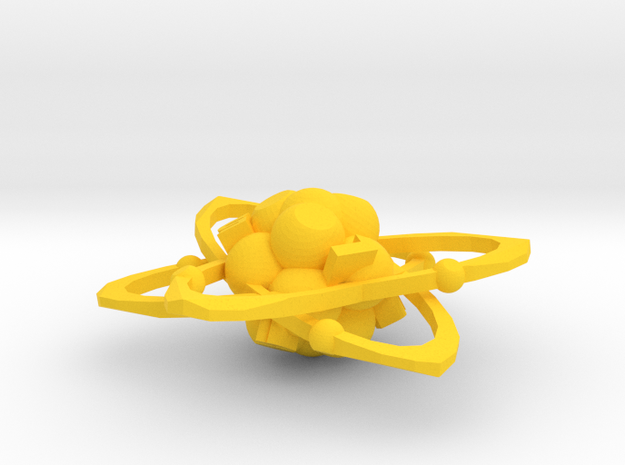 Atom d6 in Yellow Processed Versatile Plastic