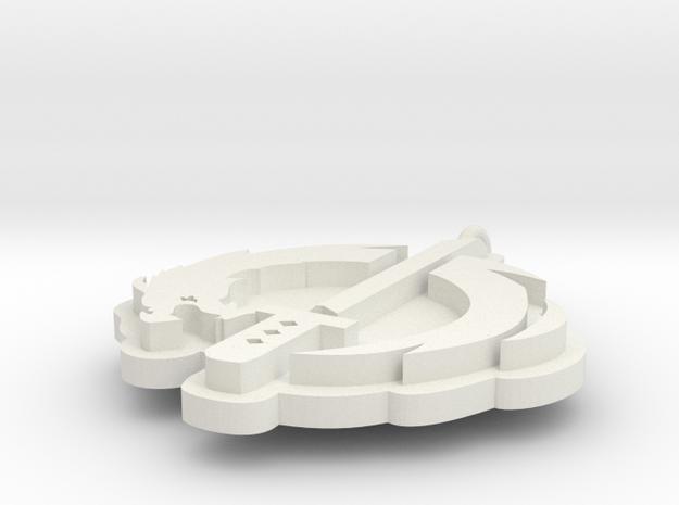 Overwatch Gengi Logo in White Strong & Flexible