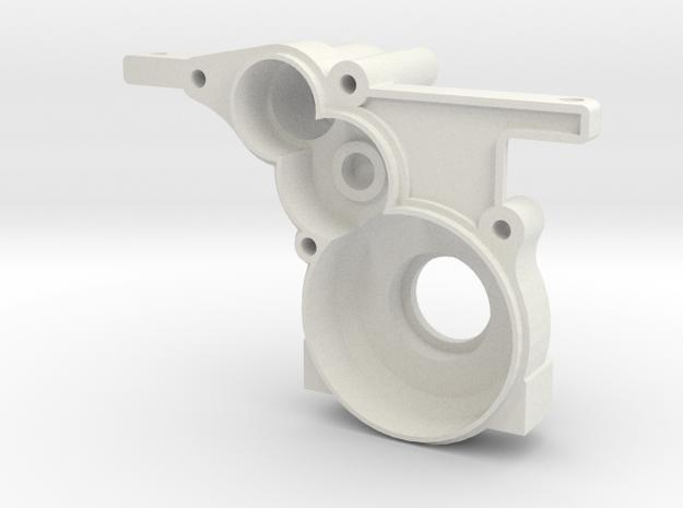 AE Version - 3 Gear RH Case Rev 007 in White Strong & Flexible