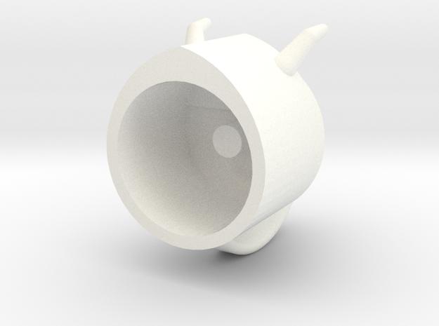 skurgehelm in White Processed Versatile Plastic