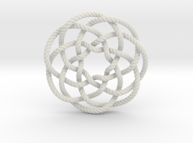 Rose knot 7/5 (Rope with detail)