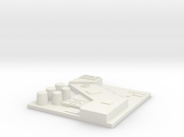 tile_deathstar_12 in White Natural Versatile Plastic