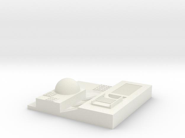 tile_deathstar_9 in White Natural Versatile Plastic