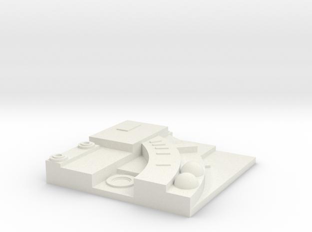 tile_deathstar_10 in White Natural Versatile Plastic