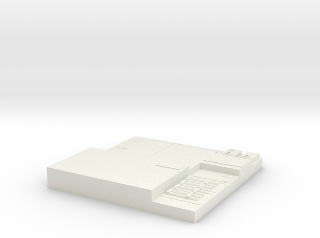 tile_deathstar_4 in White Natural Versatile Plastic