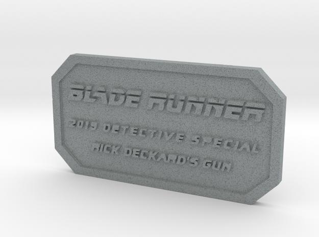 Label for PKD M2019 in Polished Metallic Plastic