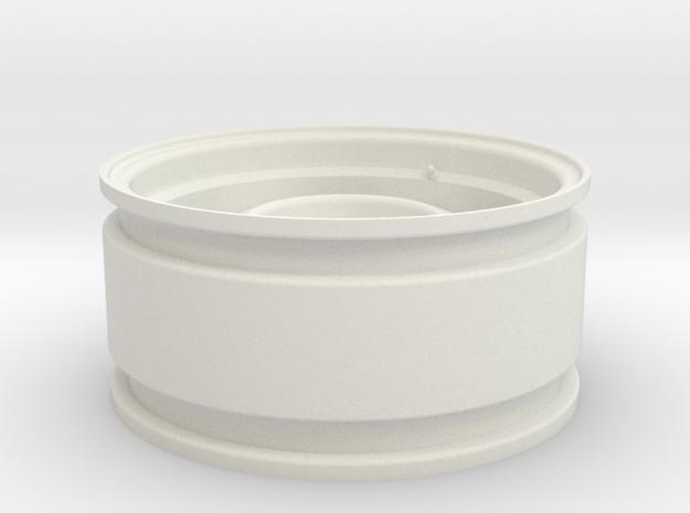 CW001 - Jeep Comanche Rims 1.9 (RC4wd Hubs) in White Natural Versatile Plastic