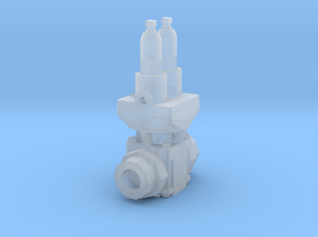 D&RGW Air Pump Steam Governor  in Smooth Fine Detail Plastic: 1:48 - O
