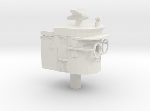 Hercules STAR TUGS Head (ERTL 20cm Scale) in White Natural Versatile Plastic
