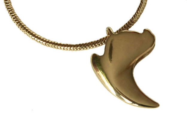 Cat Claw in Polished Brass